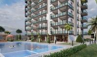 AL-542-2, Alanya Avsallar'da Panoramik Deniz Manzaralı Balkonlu 90 m² Daireler