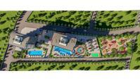 AL-619-6, Alanya Avsallar'da Nefes Kesen Deniz Manzaralı Zengin Sosyal Olanaklara Sahip 112 m² Daireler